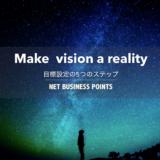 ビジョンを実現するためのマインドの作り方②【目標設定5つのステップ】